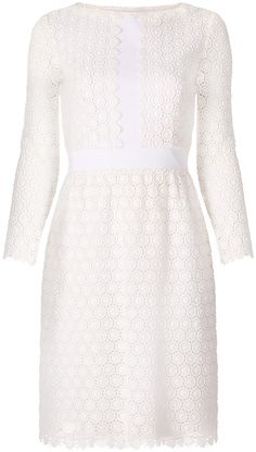 DVF Nolly Cosmic Lace A-line Dress