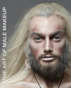 Makeup Face Charts Male 54 New Ideas Beard Makeup, Male Makeup, Fx Makeup, Contour Makeup, Drag Makeup, How To Do Makeup, Basic Makeup, Makeup Organizing Hacks, Body Painting Men