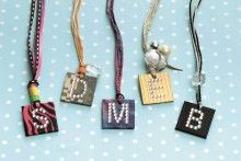 Necklaces from Go Crazy with Duct Tape!