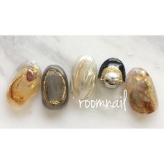 Love Nails, How To Do Nails, Pretty Nails, Korean Nail Art, Korean Nails, Pretty Nail Designs, Nail Art Designs, Nails Design, Office Nails