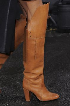 #3.1 Phillip Lim Fall 2013 #New York Fashion Week Runway #Boots