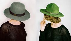 Simon and Mary - I love these hats!