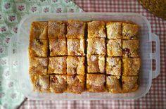 Perfektný piknikový koláčik sovocím atvarohom | RECEPT