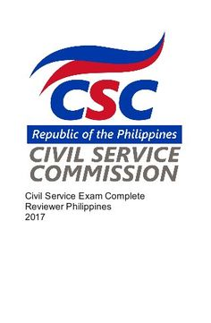 Civil service exam complete reviewer philippines 2017 (1) Lesson Plan In Filipino, Civil Service Reviewer, President Of The Philippines, Rodrigo Duterte, Exam Review, Final Exams, English Grammar, Reading Comprehension, Reading Lists