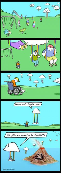Nicholas Gurewitch's brilliant webcomic Perry Bible Fellowship: Inclusivity