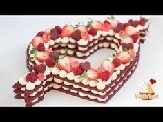 Trend Cake 2018 - Cream Tarte, Number Cake - Valentinstag Edition - VanilleTanz