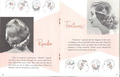 hair setting instructions 1950s by thenoirkitten, via Flickr