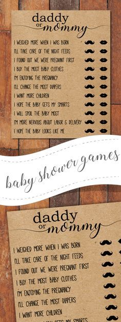 Unique, rustic-themed baby shower games- and super easy to use, just download and print instantly. Great if you are in a pinch for time! woodland baby shower,baby shower favors,baby shower ideas,baby shower decorations,baby shower templates,boho baby shower