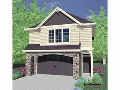 Eplans Craftsman House Plan - Four Bedroom Craftsman - 1692 Square Feet and 4 Bedrooms from Eplans - House Plan Code HWEPL66739
