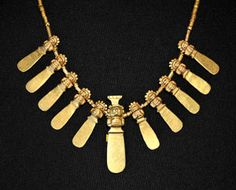 Anthropomorphic Gold Necklace, Calima Culture 200BC 600