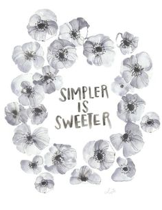 Simpler is Sweeter