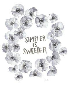 Simpler is Sweeter