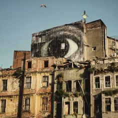Océano Mar : JR IN ISTANBUL Source: (vía JR in Istanbul |... street art banksy