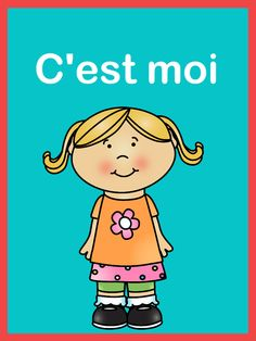 """Easy to fill out worksheets for young learners. Perfect for """"la rentre."""" There is also a boy version available in my store.Please note: C'est moi, je me presente is also part of this BUNDLECheck out my other FRENCH RESOURCES French Worksheets, Core French, French Resources, French Immersion, Learn A New Language, French Lessons, Teaching French, Learn French, Kids Education"""