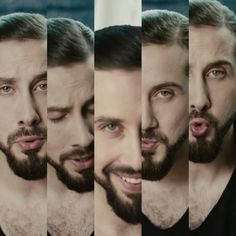 The many beautiful faces of Mr. Avi Kaplan!