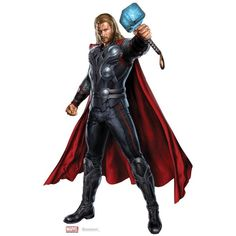 Thor Odinson ❤ liked on Polyvore featuring avengers, marvel, art, random, thor, borders and picture frame