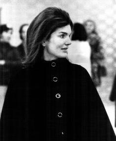1971- jackie awaiting a departing flight at jfk airport in new york, ny