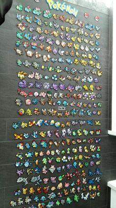 Pokedex Pokemon Perler Beads Hama