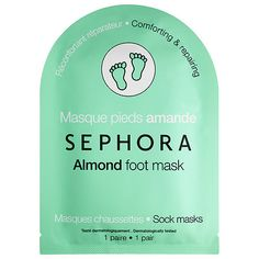 Foot Mask - SEPHORA COLLECTION | Sephora Almond - Comforting and Repairing