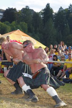 Tug of war at the Highland Games