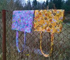 Paisley+s+motýly+na+žluté+Taška+ušitá+z+bavlněné+potištěné+látky.+Spodní+kraj+je+beze+švu,+bez+podšívky.+Rozměry+cca+výška+40cm,+šířka+35cm.+Délka+ucha+je+cca+64cm