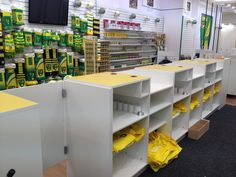 Counter Modules for Norwich City FC Retail Shop