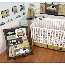 "Sumersault Classic Cars 4-Piece Crib Set - Sumersault Ltd - Babies ""R"" Us"