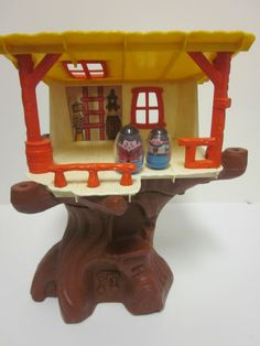 Weeble Wobble Tree House... Weebles Wobble but they don't fall down.