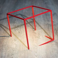 Optical Illusion Cube Lamp French designer Dequidt is the author of a minimalist lamp playing on an optical illusion effect, called Urbicande. This creative lamp seems to come out Cube Design, Design Art, Creative Lamps, 3d Studio, Paris Design, Diffused Light, Optical Illusions, Metal Art, Cool Designs