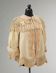 Afternoon jacket ca. 1905 via The Costume Institute of The Metropolitan Museum of Art