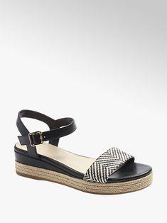 Duży wybór sandałów damskich w korzystnych cenach, dostawa gratis i 30 dni na zwrot w każdym sklepie! Znajdź wymarzone sandały damskie w sklepie Deichmann Graceland, Duffy, Fashion Boots, Espadrilles, Shoes, Color, Products, Boots Style, Wedge Sandals