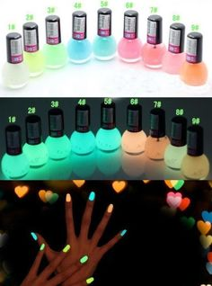 Светящийся лак - http://ali.pub/yvl9k  #makeup #Luminous #Gel #Nail