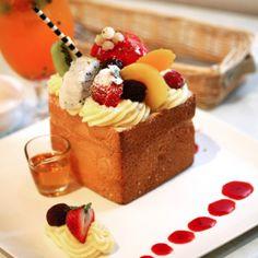 honey toast | Taiwanese dessert