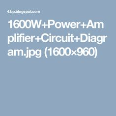 10 best audio images on pinterest audio circuits and electronic rh pinterest co uk High Power Transistor Amplifier Circuits High Power Transistor Amplifier Circuits