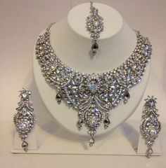 Bridal Wedding Indian Bollywood Jewellery Set | eBay