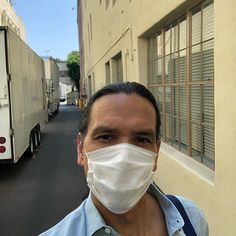 """Michael Greyeyes on Instagram: """"Los Angeles, 2020. Despite the uncertainty of the moment, I am so grateful to be working with the most amazing group of artists and…"""" Michael Greyeyes, Native American Men, Carnival, In This Moment, Grateful, Face, Artists, Group, Instagram"""