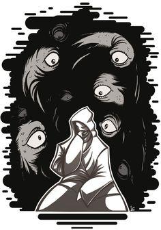 St. Anger - illustration by Luca Carnevale - Massoneria Creativa / Masonry - www.massoneriacreativa.com