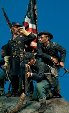 One of the greatest dioramas ever made. The Maine at Gettysburg by Bill Horan. Military Figures, Military Diorama, American Civil War, American History, American Union, Civil War Art, Crime, Military Modelling, Hair Images