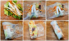 Keep rollin' rollin' rollin' rollin' What? Keep rollin' rollin' rollin' rollin' Come on Keep rollin' rollin' rollin' rollin' Yea Keep rollin' rollin' rollin' Low Calorie Snacks, Healthy Snacks, Healthy Recipes, Cheap Meals, Easy Meals, Vietnamese Summer Rolls, Easy Thanksgiving Recipes, Vietnamese Recipes, Evening Meals