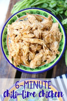 Chili Lime Pressure Cooker Chicken(can grill it! YUM!)