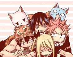 friends - where's Erza??