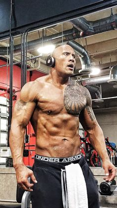 2015 goal Dwayne the rock Johnson starting the motivational pictures nice and early