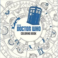 Coloring Book Review: Doctor Who Coloring Book by Price Stern Sloan