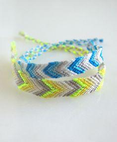 macramé friendship bracelets