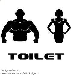 Restroom Signs   From Harboarts