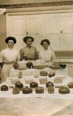 Edwardian cake stall