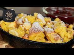 Österreichischer Kaiserschmarrn 😍 - Originalrezept - Super lecker & fluffig - YouTube Köstliche Desserts, Pretzel Bites, French Toast, Puffer, Bread, Crepes, Cooking, Breakfast, Ethnic Recipes