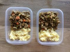 Meal Prep low carb shepherd's pie bowls to bring to lunch after bariatric surgery. Pureed Food Recipes, Easy Healthy Recipes, Healthy Snacks, Cooking Recipes, Bariatric Eating, Bariatric Recipes, Bariatric Surgery, Tzatziki, Tortillas