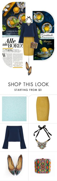 """""""Mango sorbet"""" by kseniz13 ❤ liked on Polyvore featuring Jonathan Saunders, Keepsake the Label and Nocturne"""