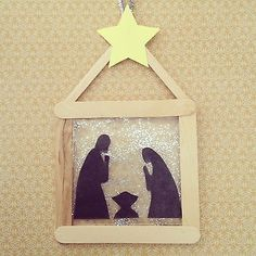 Cute nativity craft for kids